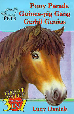 Animal Ark Pets 3-in-1 Collection 3: Pony Parade/Guinea-Pig Gang/Gerbil Genius,
