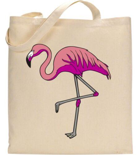 Flamingo Elegance Tote Bags Animation Animal Graphic Art Birthday Gifts