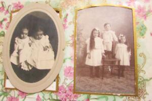 Etats-Unis-Noir-amp-Blanc-family-photo-album-Turn-of-the-Century