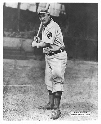 AWESOME CLASSIC HONUS WAGNER PIRATES 8x10 PHOTO HALL OF FAME GREAT