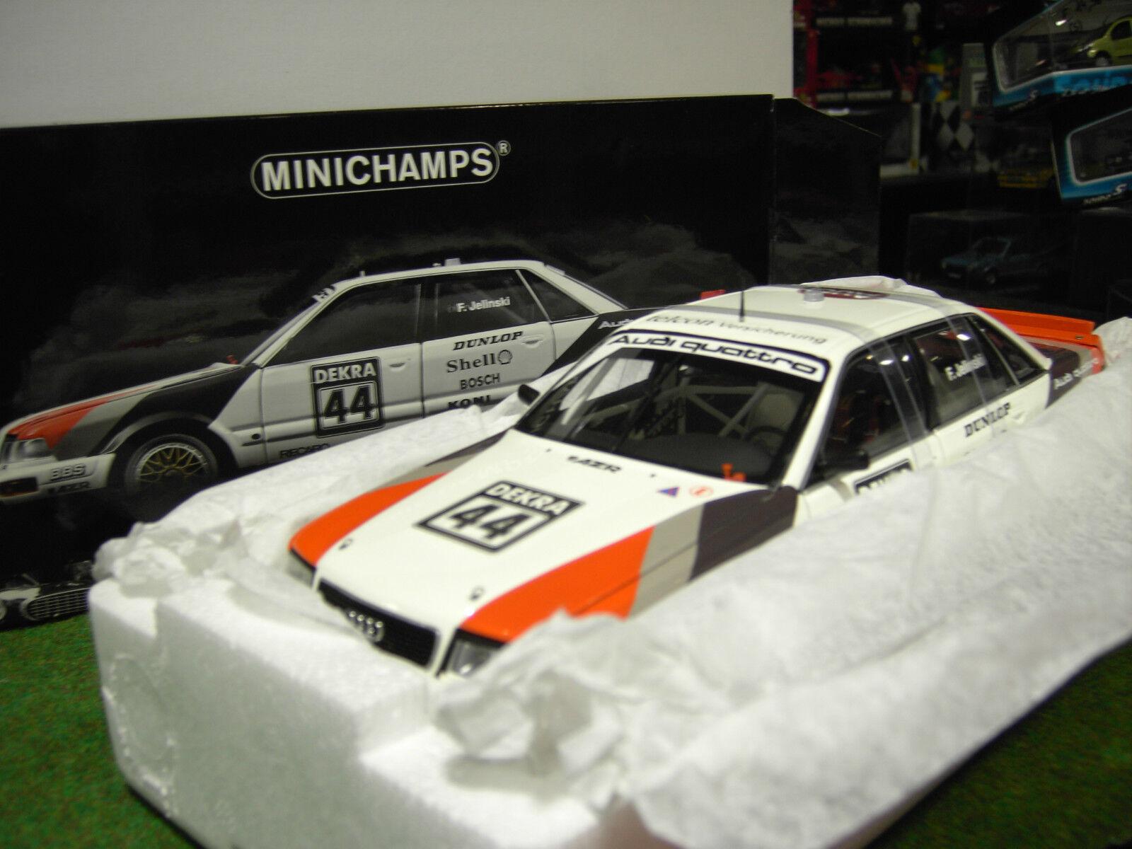AUDI V8 QUATTRO  DTM 1991   44 au 1 18 de MINICHAMPS 100911044 voiture miniature