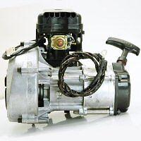 49 CC 2 STROKE NEW GAS ENGINE SCOOTER POCKETBIKE MINI CHOPPER MOTOR