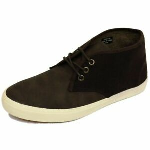mens brown laceup desert chukka smart casual ankle boots