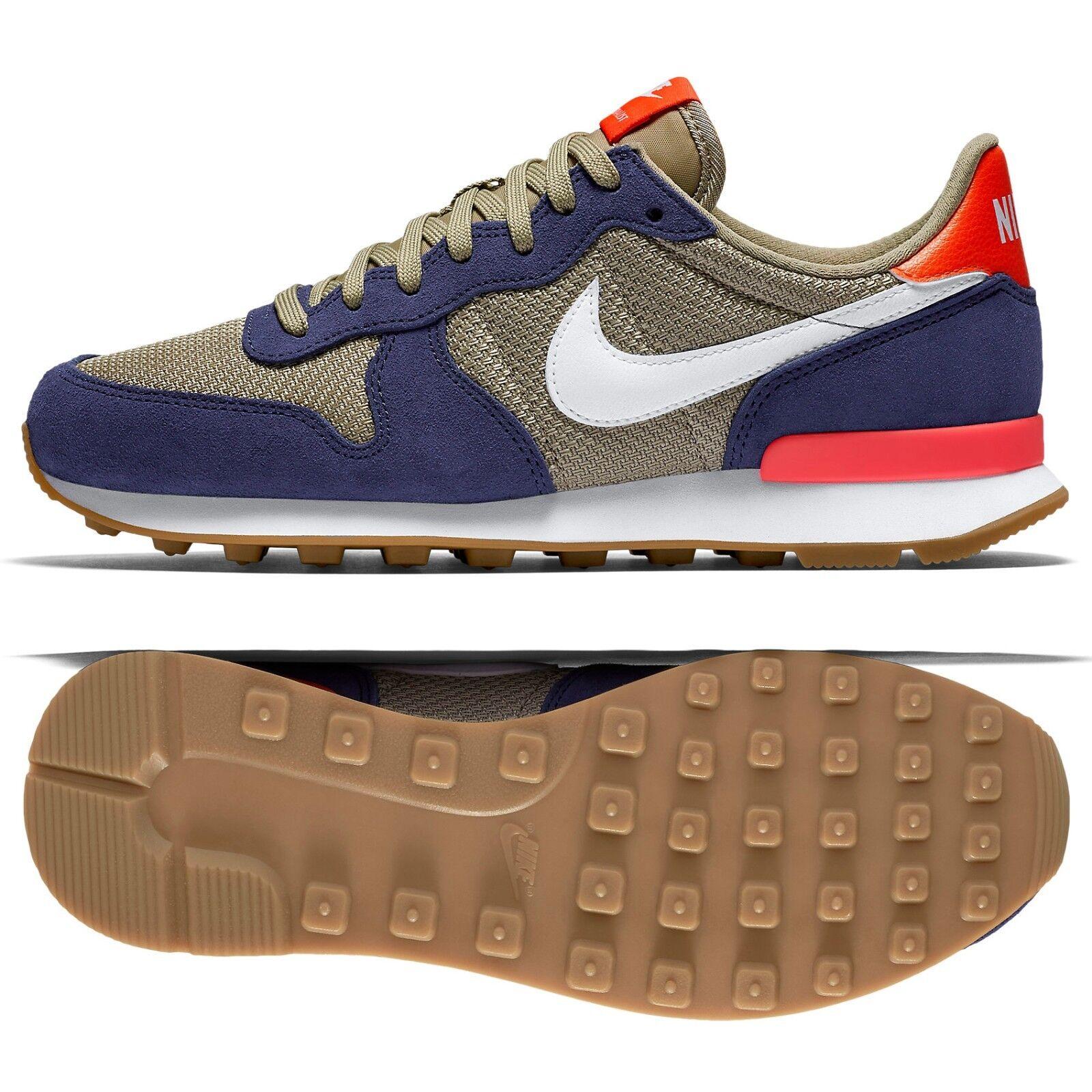 WMNS Nike Internationalist 828407-408 Loyal Blue/Bamboo/White Women's Shoes