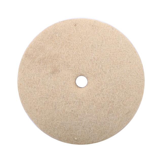 3pcs 100mm Metal Glass Polishing Buffing Wheel Wool Felt Polisher Disc Pad Mat