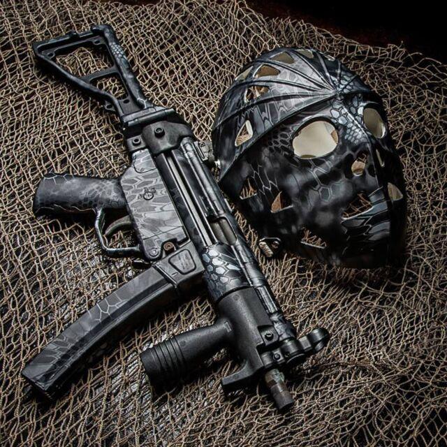 Hunter Decal 2 Pack Camo Gun Man Stickers