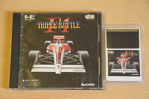 F1-Triple-Battle-Jeu-NEC-PC-Engine-Hucard-import-JAP-cib