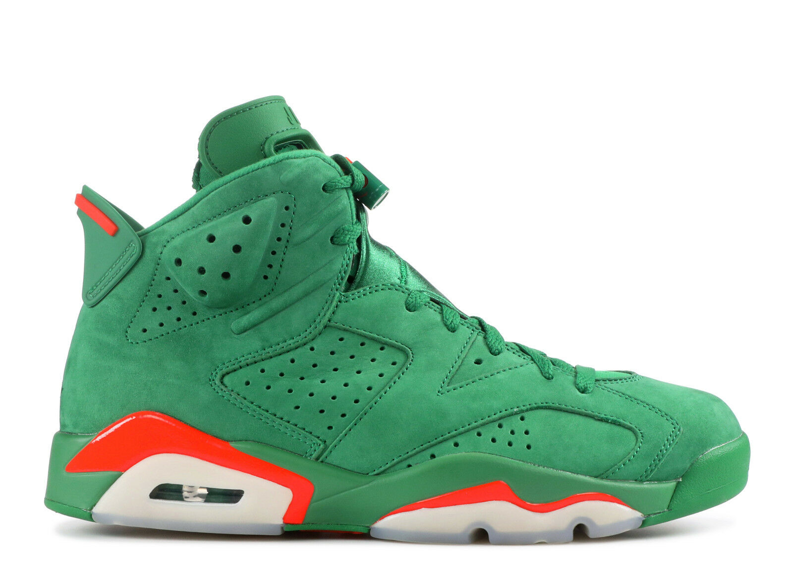Men's Nike Air Jordan Retro 6 NRG Suede  Gatorade  Athletic Sneakers AJ5986 335