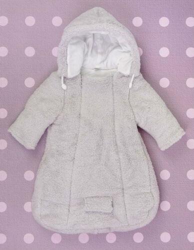 Baby Newborn Boy Girl Unisex Snowsuit Footmuff Sleeping Bag FITS CARSEAT 0-3-6 m