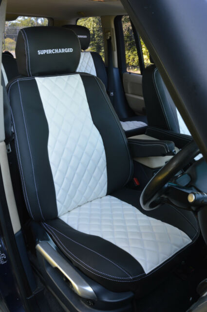 Range Rover Vouge Custom Made With Diamond Stitched Seat Covers
