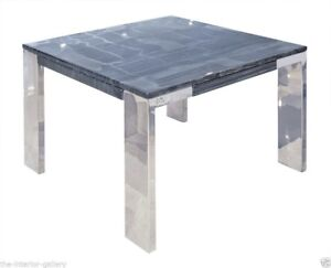 Image Is Loading Modern Coffee Table Marble Top End