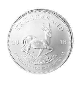 Kruegerrand-Krugerrand-2018-1-OZ-Silber-Silver-Argent-Suedafrika-South-Africa