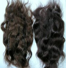 REBORN MOHAIR DOLL/TROLL/PUPPET HAIR WAVY - BROWN DUO  14GRAMS /HALF OUNCE