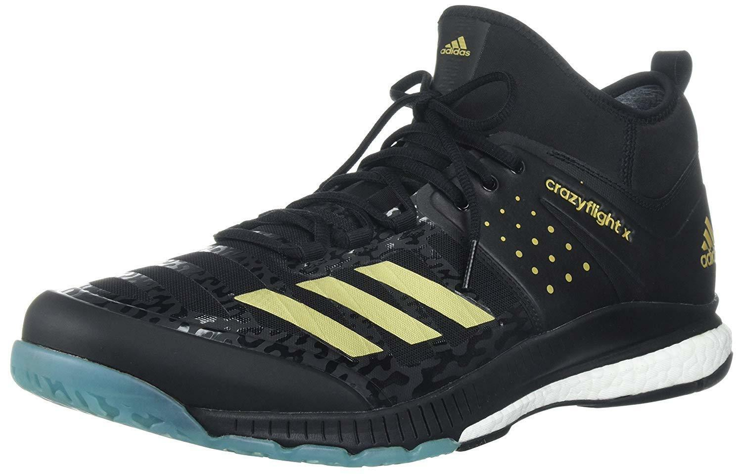 adidas BY2446 Performance Mens Crazyflight X Mid Volleyball Shoes