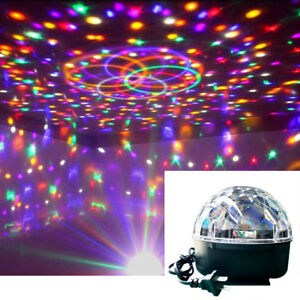 Details About Celebrations Rotating Stage Star Ball Dj Party Flashing Led Disco Lighting