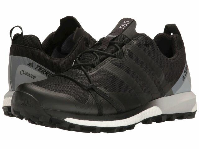 7adbf374e77 Adidas BB0953 Outdoor Terrex Agravic GTX Black White Men's Trail Running  Shoes