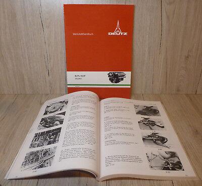 Werkstatthandbuch Deutz Motor F1L210D FL 210