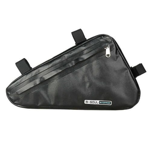 1pc Waterproof Large Capacity Bicycle Triangle Tote Bag Top Tube Cycling Pannier
