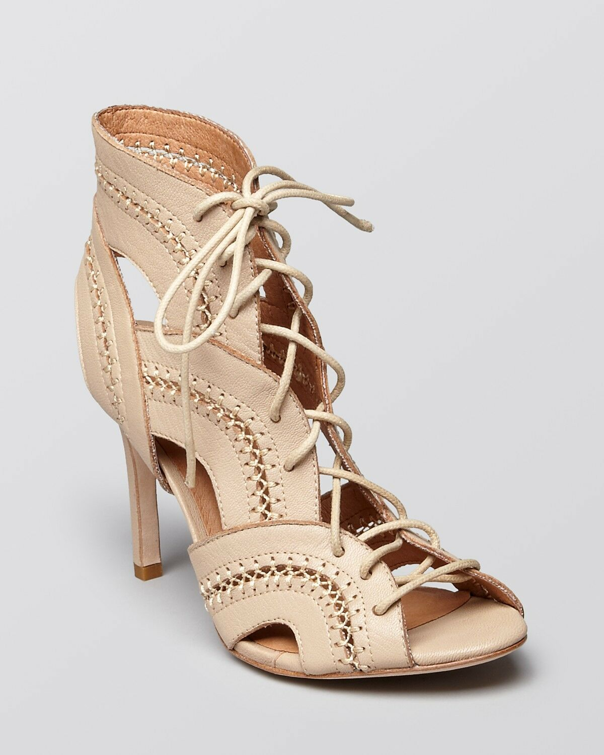 JOIE,  Remy , Dusty Pink Sand, Lace Up Heels, NWB, Size 39.5,  325, CLEARANCE