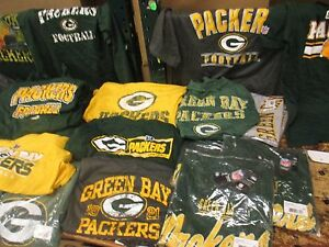 Green-Bay-Packers-NFL-Men-039-s-2-MYSTERY-SHIRTS-Multiple-Sizes-Available