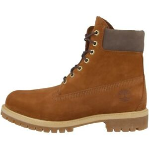 Detalles de Timberland 6 Pulgadas Premium Botas Zapatos de Invierno Coñac A1LXU Classic