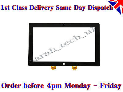 "Microsoft Surface Rt 1 1515 1516 10.6"" Tablet Anteriore Digitalizzatore Touch Screen Vetro-"