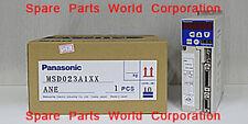 MSD023A1XX-Panasonic AC Servo Driver In Stock-Free Shipping($850USD)