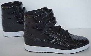new specials best shoes new items Details about NIB Puma Contact 362032 05 black sky II hi patent basketball  shoes mens 8.5
