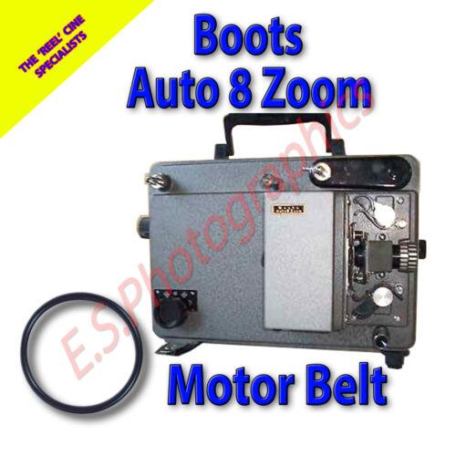 Botas Auto 8 Zoom 8mm Cine Proyector Motor Correa de transmisión