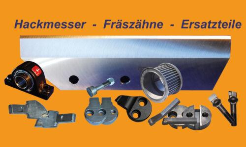 Hackmesser 270x100x11 für Schliesing Häcksler 330 350 355 400 440 460 480