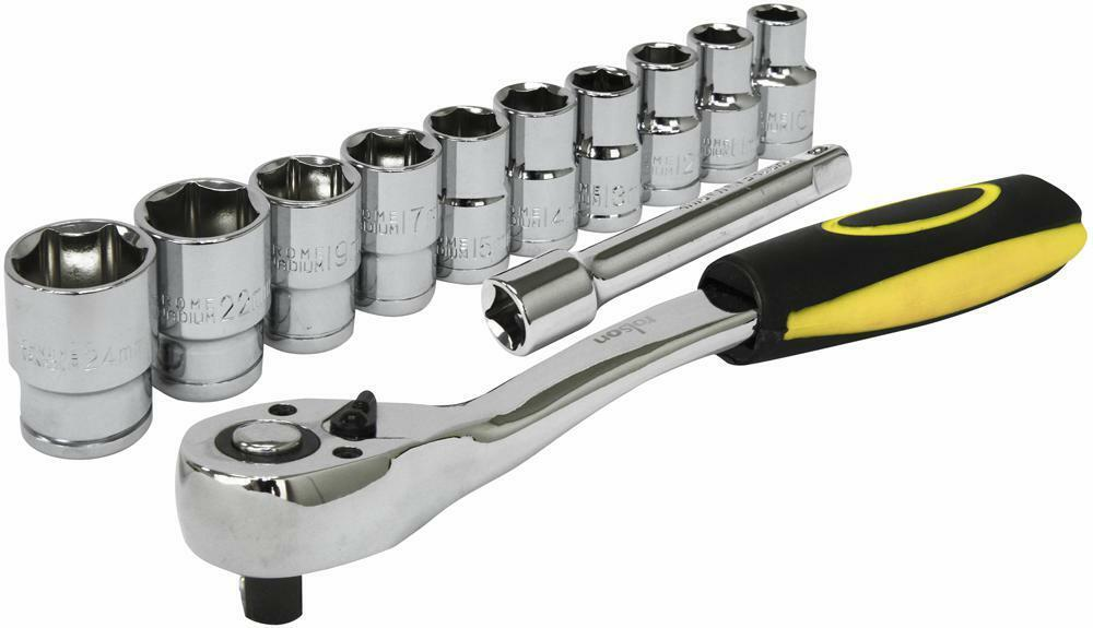 1 2  Socket Set 10 Piece - 38653