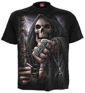 Spiral-Direct-BOSS-Reaper-Camiseta-Reaper-Motociclista-Calavera-Dark-Ropa