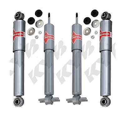 KYB 4 GAS UPGRADE SHOCKS CORVETTE 1984 1985 1986 1987 84 85 86 87 KG4537 KG5564