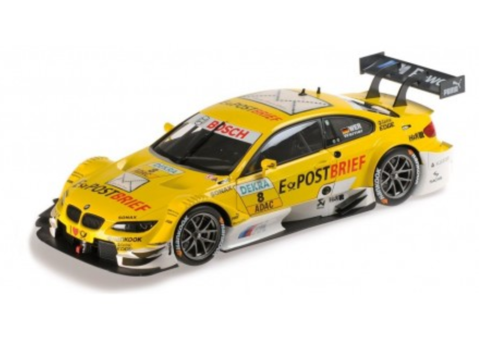 1 18 BMW M3 Werner DTM 2012 1 18 • Minichamps 100122208
