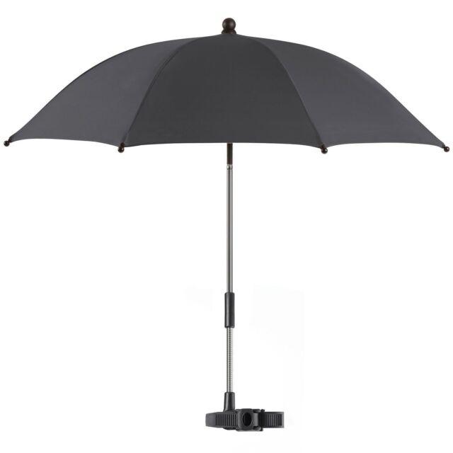 Reer Sonnenschirm Shine Safe Schirm Kinderwagen Sonnenschutz schwarz