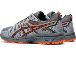ASICS-Homme-Gel-Venture-7-Chaussures-Course-En-Transporteur-Gris-Habanero
