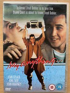 Say-Anything-DVD-1980-Annees-1980s-Ado-Romcom-Film-Classique-W-John-Cusack