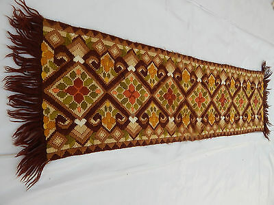 Antiques Orderly Beautiful Table Cover 89x26cm T139