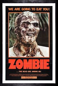 ZOMBIE * CineMasterpieces ORIGINAL MOVIE POSTER 1979 ...