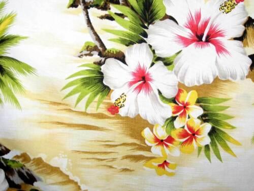 PLA ORIGINALE Hawaii Camicia Onda Beige s-4xl