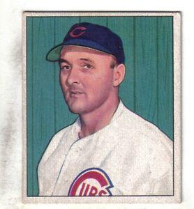 Details About 1950 Bowman Baseball Card 170 Emil Dutch Leonard Chicago Cubs Vgex