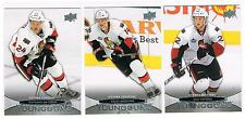 2011-12 STEPHANE DA COSTA UPPER DECK 1 YOUNG GUNS SP ROOKIE #233 SENATORS