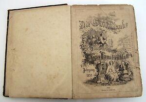 Buch-034-Die-Gartenlaube-034-Antik-Jahrgang-1870-Illustriertes-Familienblatt