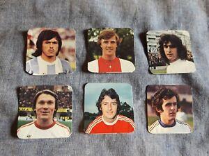 ALBUM-FIGURINE-CALCIATORI-PANINI-1979-80-CALCIATORI-STRANIERI-Lotto-6-pz-rec