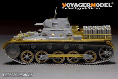 for dragon 6207, 35289 voyagermodel B DAK version de base I Ausf Pour Kpfw PE Pour PZ