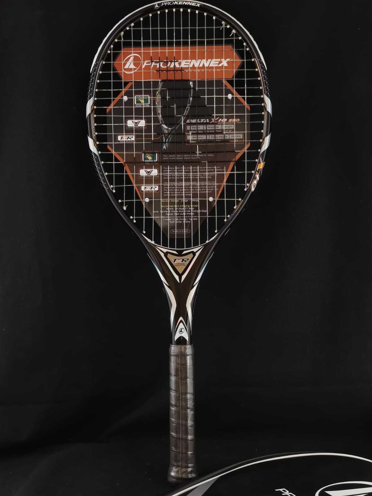 Nice new ProKennex X-10 Delta wood core tennis rackets 4 1//4