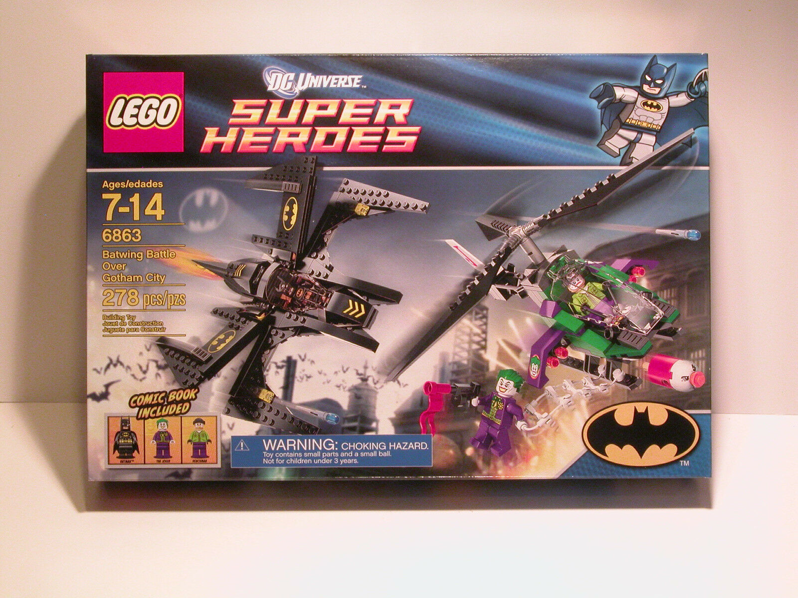 LEGO 6863 Batwing Battle Over Gotham City NEW  MISB FAST FREE SHIPPING