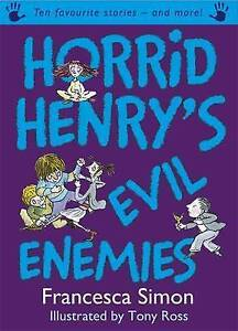 Horrid-Henry-039-s-Evil-Enemies-by-Francesca-Simon-Used-Book-Hardcover-FREE-amp-FA