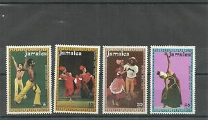 JAMAICA SG385-388-NATIONAL DANCE THEATRE COMPANY-MNH