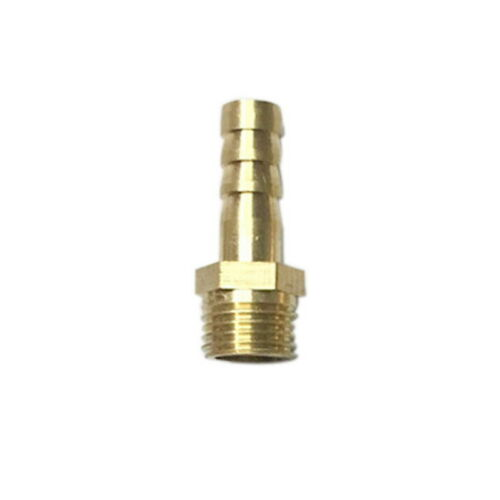 1 PC Brass Pipe Fitting 4mm 6mm 12mm 19mm Hose Barb Tail Connector 8mm 10mm